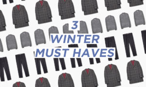3 Winter Must Haves For Men